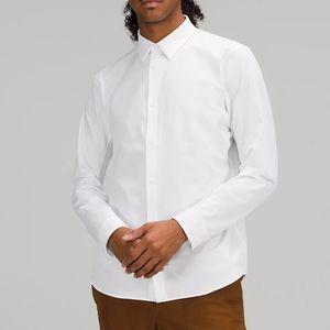 Lululemon New Venture Long Sleeve Shirt White